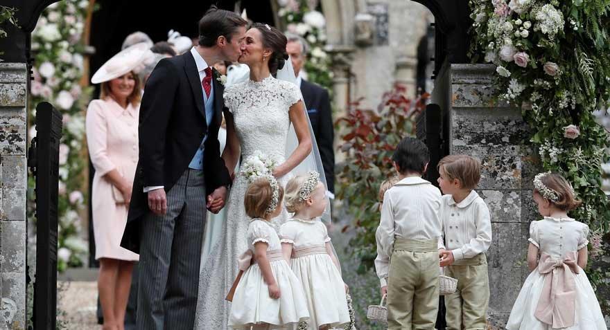 Kraliyet yengesi evlendi