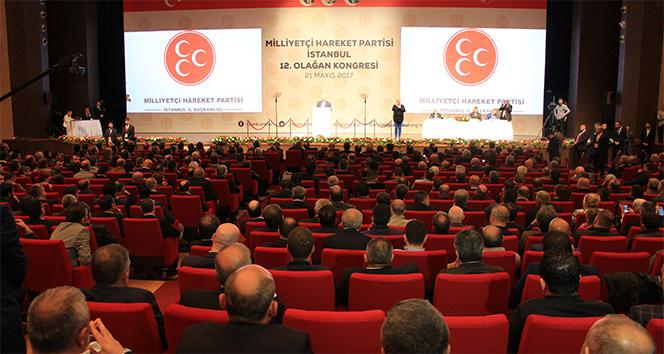 MHP İstanbul İl Kongresi'nde tek aday