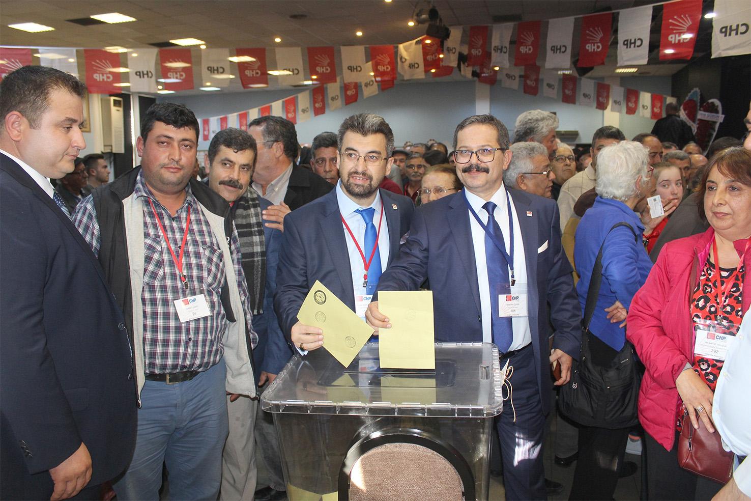 CHP Milas İlçe Teşkilatı'nda sandık heyecanı