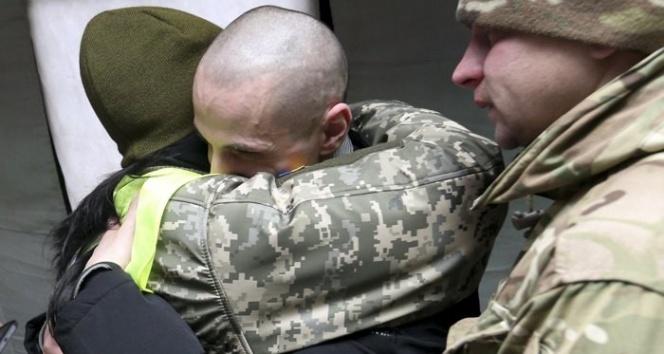 Ukrayna-Rusya arasındaki esir değişiminde 203 tutuklu serbest bırakıldı