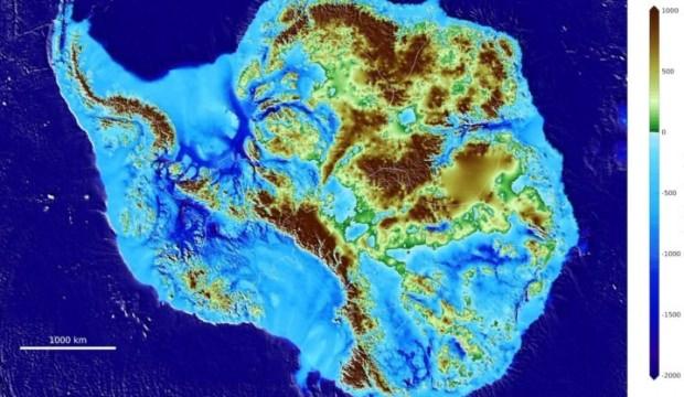 Yerin 3 bin 500 metre altında keşfedildi! Buz dolu…