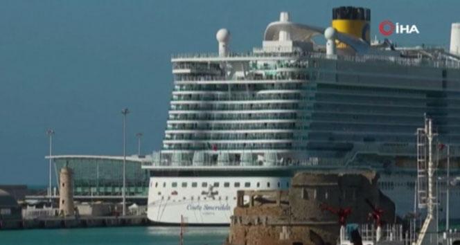 7 bin kişilik gemide Korona virüsü şüphesi