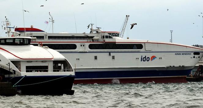 İDO ve BUDO seferleri iptal edildi (7 Ocak Salı)