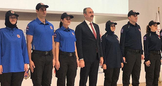 İnfaz Koruma Memurlarının yeni üniformaları hazır