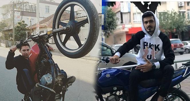 Kasksız gençlerin trafiğe kapalı alanda motosiklet kazası ölümle bitti: 2 ölü
