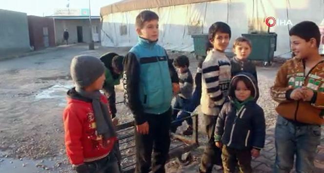 Korkuyla büyüyen Suriyeli çocukların yüzü oyun parkıyla güldü