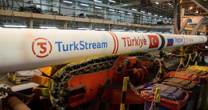 TürkAkım ile 1 milyar metreküp doğalgaz aktarıldı