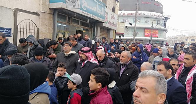 Ürdünlülerden İsrail-Ürdün gaz anlaşması protestosu