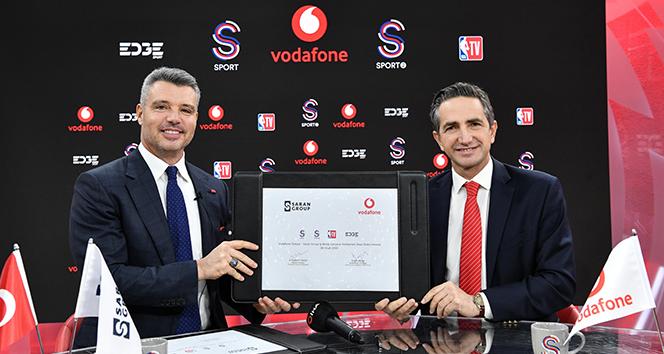 Vodafone ve Saran Grup sporda güçlerini birleştirdi