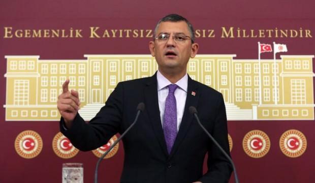 CHP'li Özgür Özel tepki gören kanun teklifini geri çekti
