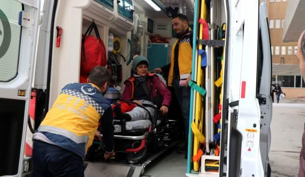 Kayak yaparken çarpıştılar: 2 yaralı