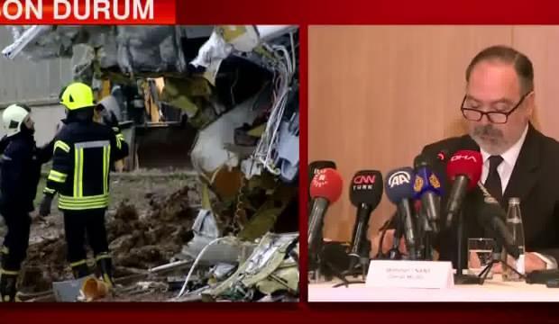Pegasus Genel Müdürü Mehmet Nane gözyaşlarını tutamadı