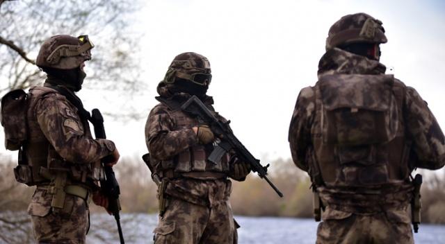 Özel Harekat Polisleri Meriç Nehri'ne indi, Yunan askerleri geri çekildi!
