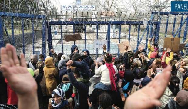 Brüksel'de Mülteci Krizi paneli