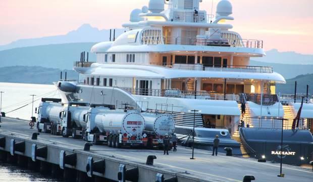 Dubai Şeyhi'nin yatına 2 milyon 200 bin liralık yakıt