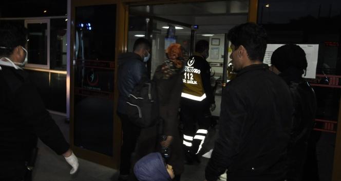 Hastaneyi terk edenler bulunup geri getirildi