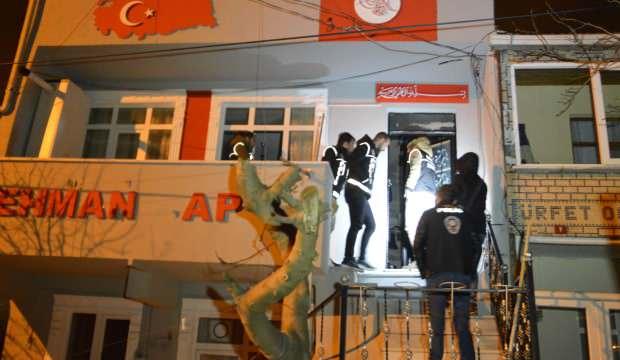 İstanbul'da 47 adrese eş zamanlı baskın: Gözaltılar var