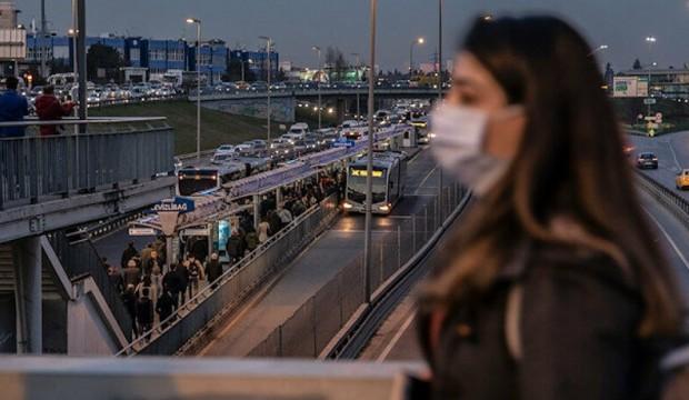 İstanbul'da toplu ulaşım yüzde 17 azaldı