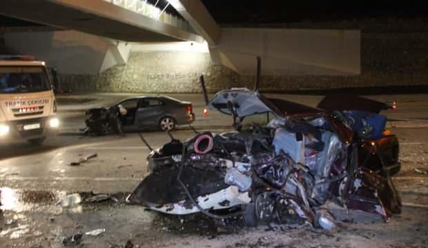 Konya'da feci kaza: 3 ölü