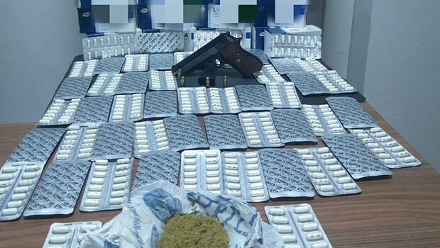 Malatya'da, uyuşturucuya 2 tutuklama