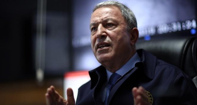 Milli Savunma Bakanı Akar: Harekat şu ana kadar planlandığı şekilde başarıyla devam ediyor