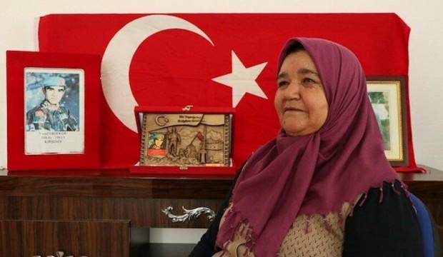Şehit annesinden Cumhurbaşkanı Erdoğan'a teşekkür