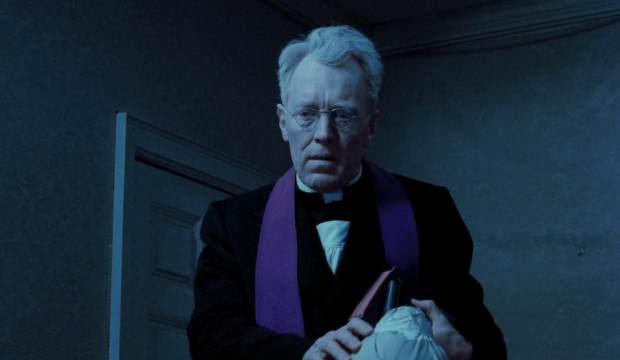 Şeytan filminin rahibi öldü