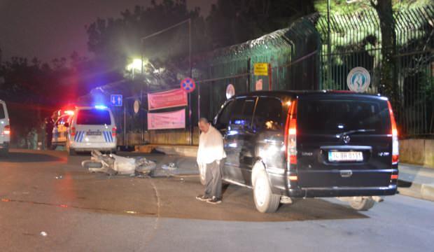 VIP araç ile motosiklet çarpıştı: 1 kişi ağır yaralı