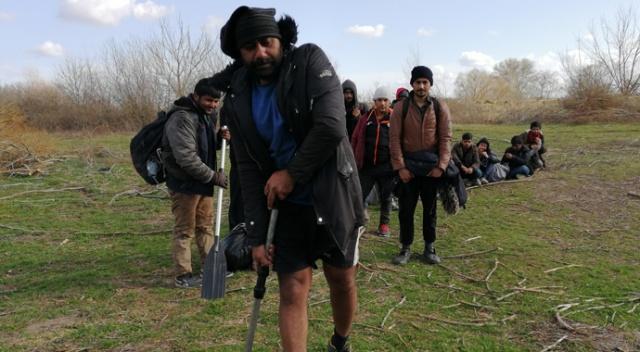 İnatçı göçmen 13'üncü kez Yunanistan'a gitmeyi deniyor