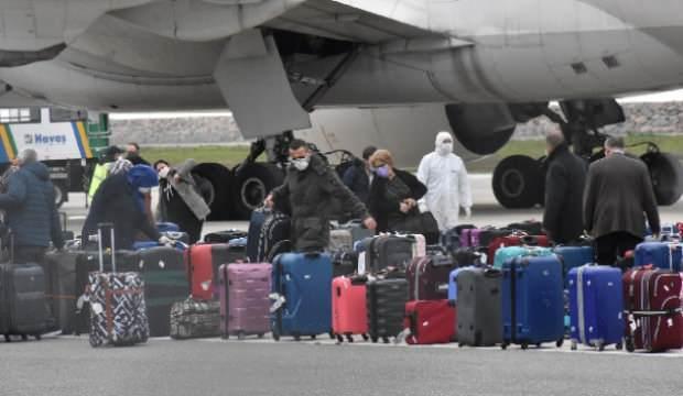 312 kişi Hollanda'dan Türkiye'ye getirildi