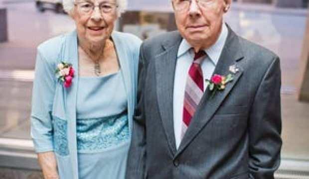 73 yıllık çifti koronavirüs bile ayıramadı