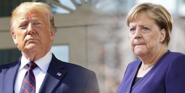 ABD Almanya'nın maskelerine el koydu kriz patlak verdi!