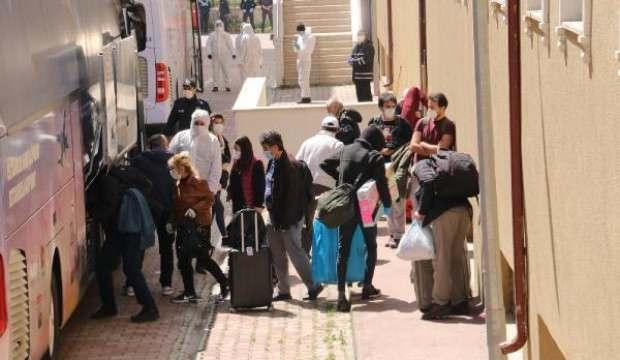 ABD'den getirilen 225 vatandaş, Düzce'de yurda yerleştirildi