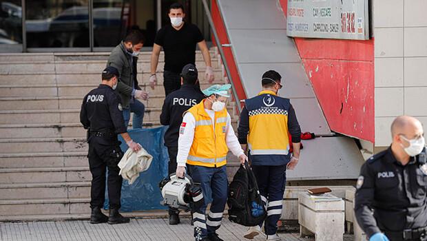 Ankara'da bir kişi çarşının merdivenlerinde ölü bulundu