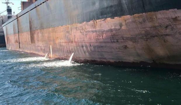 Boğaz'a atıksu deşarj eden gemiye 2.4 milyon lira ceza!