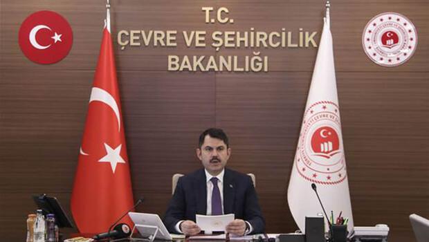 Çevre ve Şehircilik Bakanı Kurum, il müdürleriyle video konferansla görüştü
