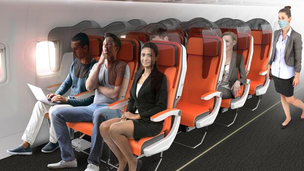 Corona virüs sonrası bakın uçaklar nasıl olacak… Dev şirket yayınladı