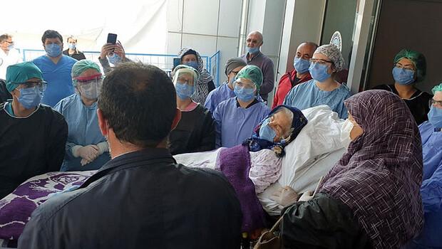 Corona Virüsü yenen 92 yaşındaki Bahriye Kaya, hayatını kaybetti