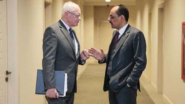 Cumhurbaşkanlığı Sözcüsü Kalın ve ABD'nin Suriye Özel Temsilcisi Jeffrey İdlib'i masaya yatırdı