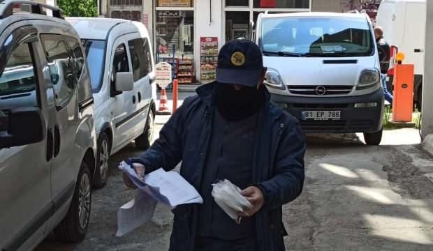 Düzce'de maske dağıtımları başladı