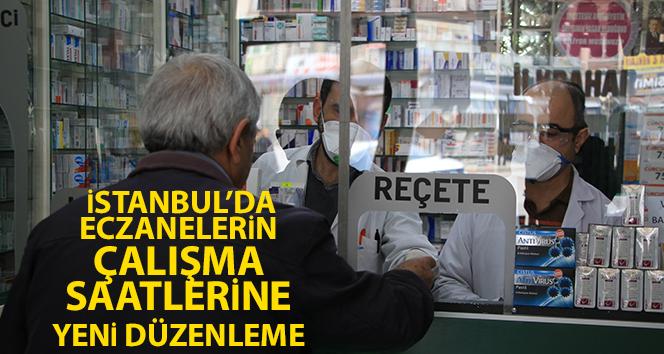 İstanbul'da eczanelerin çalışma saatlerine yeni düzenleme