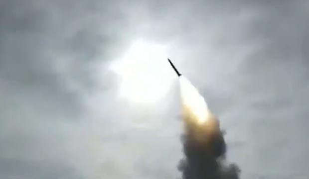 Görüntüler yayınlandı! S-400'ler böyle vurdu