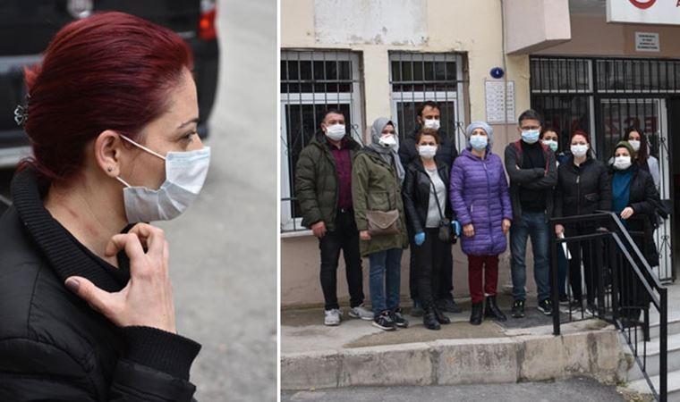 Aile sağlık merkezinde hemşireye saldırıp, camları kırdı