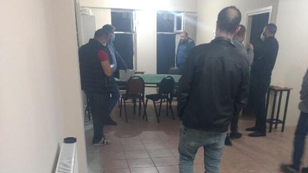 İş yerinde kumar oynayan 12 kişiye 49 bin 800 lira ceza