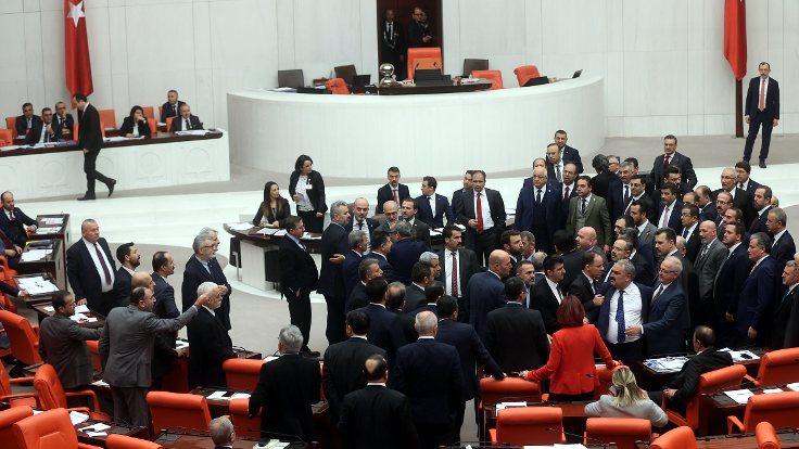 TBMM'de tartışma çıktı: MHP ve HDP grupları arasında gerginlik yaşandı