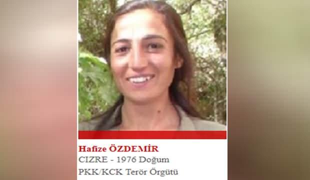 Kırmızı listedeki kadın terörist mağarada kanserden öldü