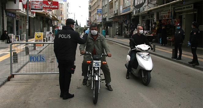 Korona korkusunun dize getiremediği motosiklet sürücüleri denetimlerle yola geldi