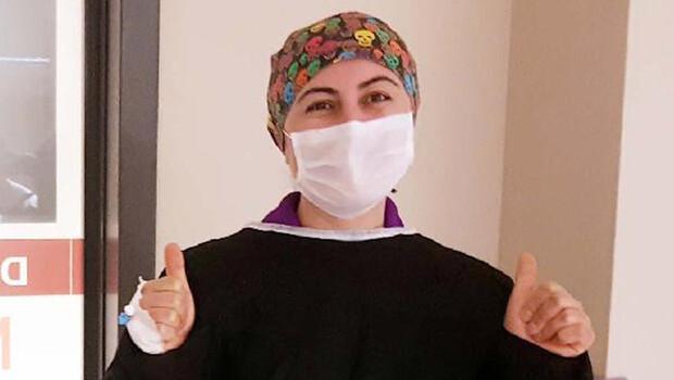 Koronavirüsü yenen Elif hemşire: Çok zor günlerdi