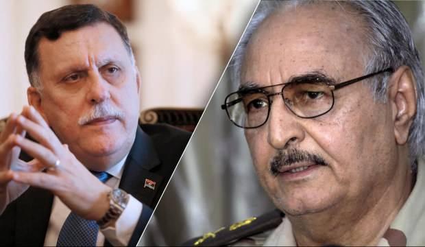 Masayı devirdi! Libya Başbakanı Serrac'tan darbeci general Hafter'e rest