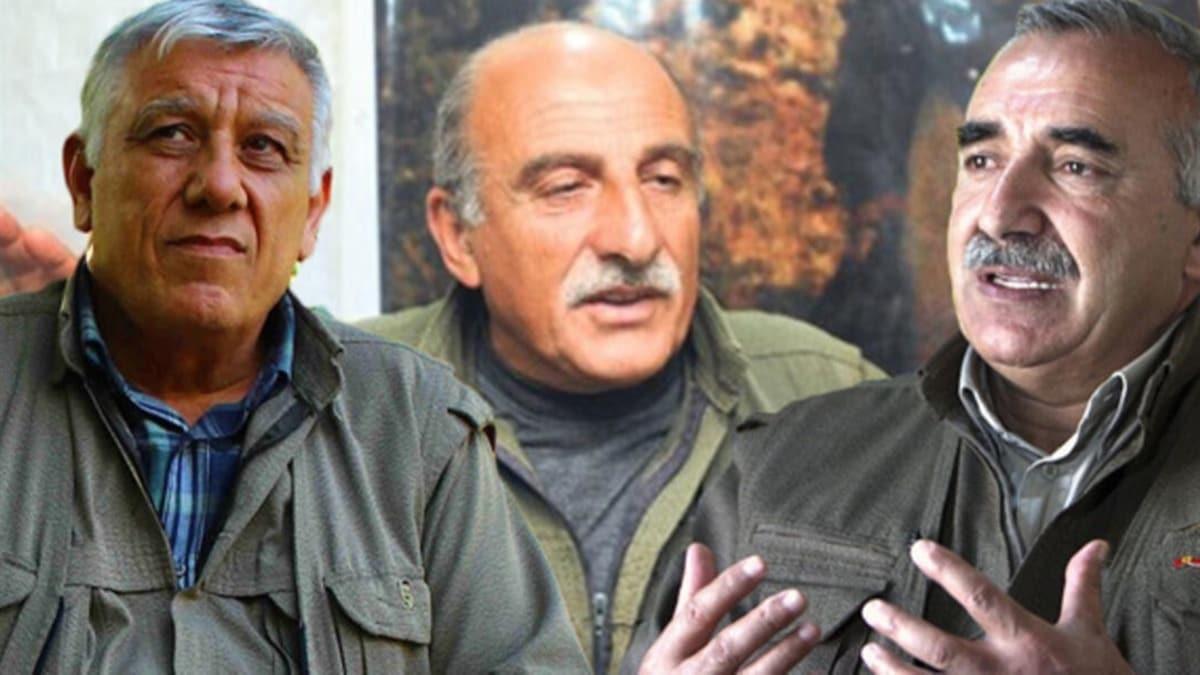Terör örgütü PKK'nın sözde lider kadrosunda büyük panik!